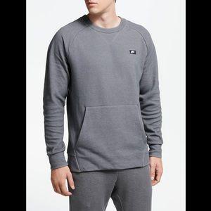 Nike Sportswear Optic Crewneck Pullover Grey
